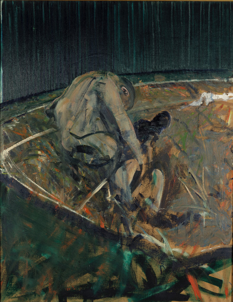Francis Bacon, 'Figures in a Landscape', 1956, oil on canvas, © The Estate of Francis Bacon / DACS London 2014. All rights reserved.