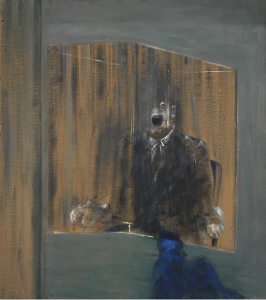 Francis Bacon, Study for Portrait, 1949. Oil on canvas. © The Estate of Francis Bacon / DACS London 2015. All rights reserved.