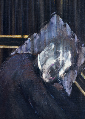 Francis Bacon, Three Studies of the Human Head, 1953