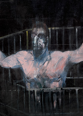 Francis Bacon, Study of a Figure, 1954