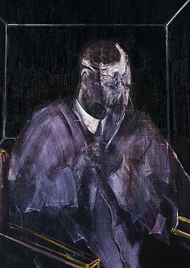 Francis Bacon, Man with Head Wound, 1955