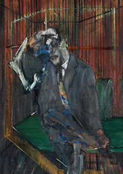 Francis Bacon, Study for Figure IV, 1956-57