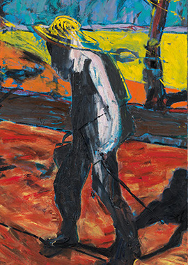 Francis Bacon, Study for Portrait of Van Gogh IV, 1957