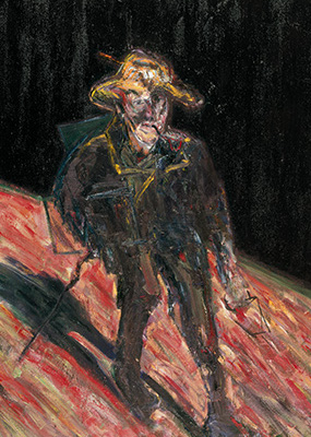 Francis Bacon, Van Gogh Going to Work, 1957