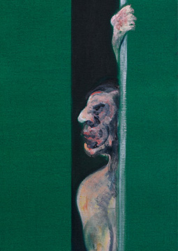 Francis Bacon, Man with Arm Raised, 1960