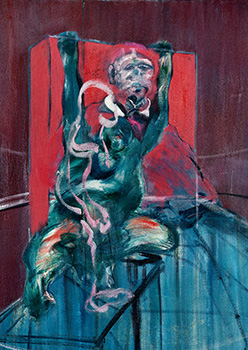 Francis Bacon, 'Pope and Chimpanzee', c.1960