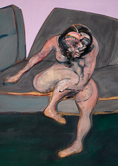 Francis Bacon, Seated Woman, 1961