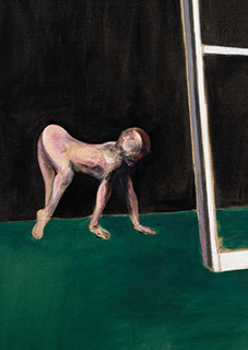 Francis Bacon, Paralytic Child Walking on all Fours (from Muybridge), 1961