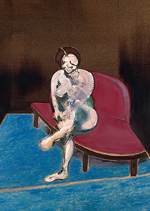 Francis Bacon, Woman on a Red Couch, 1961