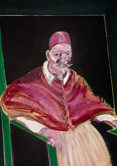 Francis Bacon, Study for a Pope II, 1961