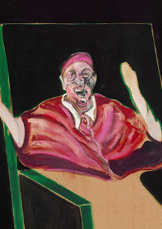 Francis Bacon, Study for a Pope V, 1961