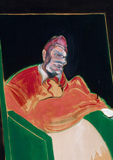 Francis Bacon, Study for a Pope VI, 1961