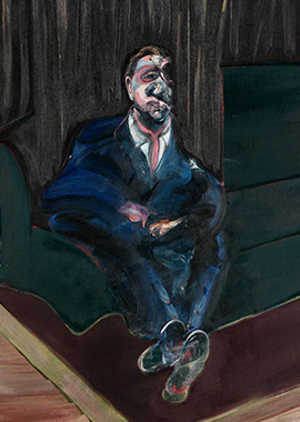 Francis Bacon, Seated Figure, 1961