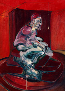 Francis Bacon, Study from Innocent X, 1962
