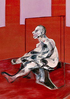 Francis Bacon, Seated Figure, 1962