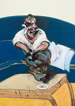 Francis Bacon, Study for Self-Portrait, 1963