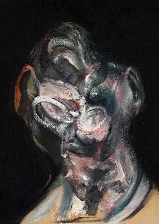 Francis Bacon, Portrait of Man with Glasses I, 1963