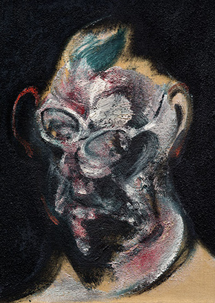 Francis Bacon, Portrait of Man with Glasses II, 1963