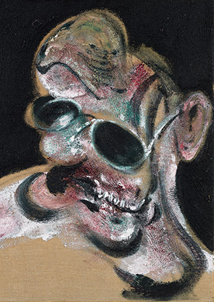 Francis Bacon, Portrait of Man with Glasses III, 1963