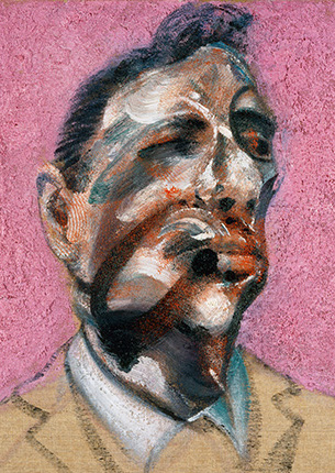 Francis Bacon, Three Studies for Portrait of George Dyer (on pink ground), 1964