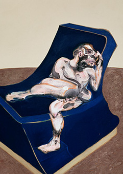Francis Bacon, Three Figures in a Room, 1964