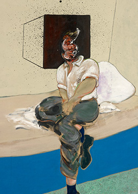 Francis Bacon, Study for Self-Portrait, 1964