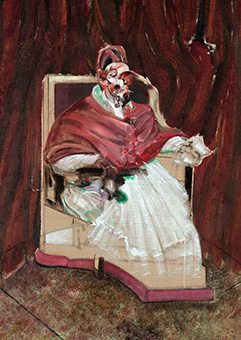Francis Bacon, Study from Portrait of Pope Innocent X, 1965