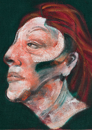 Francis Bacon, Three Studies for Portrait of Isabel Rawsthorne, 1965