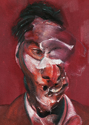 Francis Bacon, Three Studies for Portrait of Lucian Freud, 1965