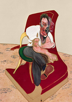 Francis Bacon, Three Studies for Portrait of Lucian Freud, 1966