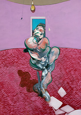 Francis Bacon, Portrait of George Dyer Talking, 1966