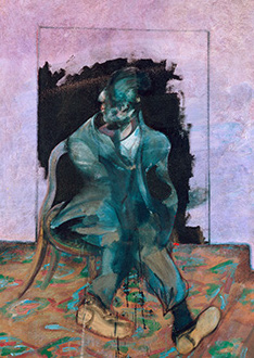 Francis Bacon, 'Seated Figure and Carpet', c.1966