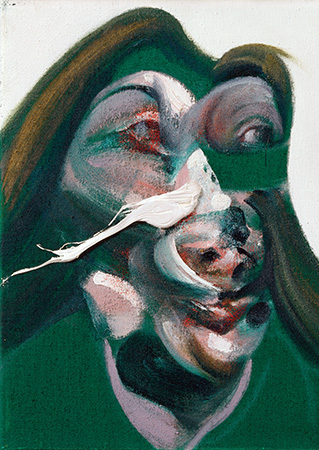 Francis Bacon, Study for Head of Isabel Rawsthorne, 1967
