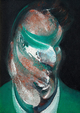 Francis Bacon, Study for Head of Lucian Freud, 1967