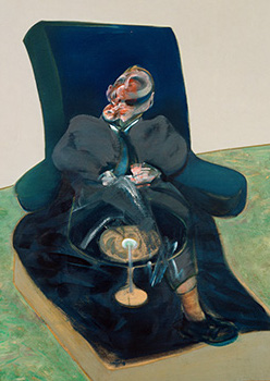 Francis Bacon, Study for a Portrait on a Revolving Chair, 1967