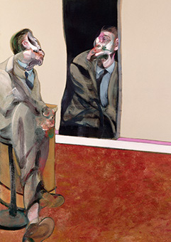 Francis Bacon, Portrait of George Dyer Staring into a Mirror, 1967