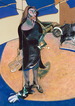 Francis Bacon, Portrait of Isabel Rawsthorne Standing in a Street in Soho, 1967
