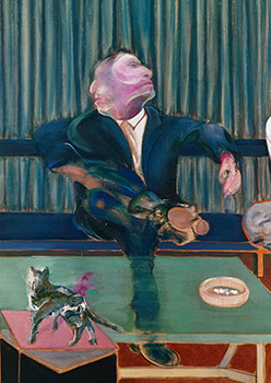 Francis Bacon, Portrait of George Dyer and Lucian Freud, 1967