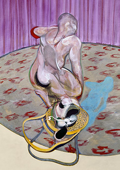 Francis Bacon, Man Getting Up from a Chair, 1968