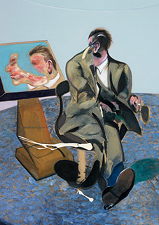 Francis Bacon, Portrait of George Dyer in a Mirror, 1968