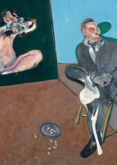 Francis Bacon, Two Studies for a Portrait of George Dyer, 1968