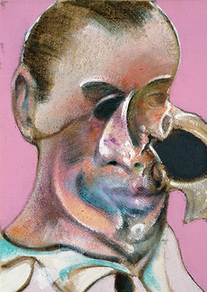 Francis Bacon, Study of a Portrait of a Man, 1969