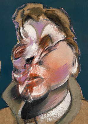 Francis Bacon, Three Studies for Portraits (including Self-Portrait), 1969