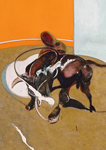 Francis Bacon, Second Version of Study for Bullfight No. 1, 1969