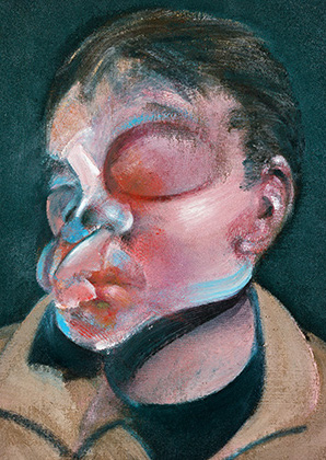 Francis Bacon, Self-Portrait with Injured Eye, 1972