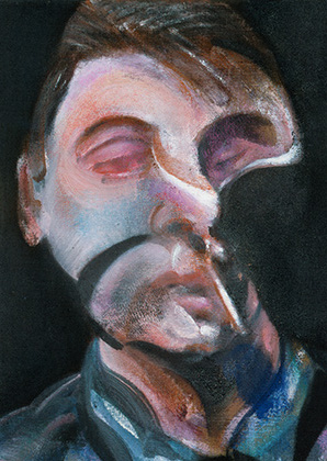 Francis Bacon, Study for Self-Portrait, 1972