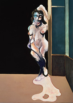 Francis Bacon, Female Nude Standing in a Doorway, 1972