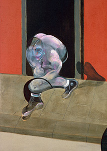 Francis Bacon, Figures in Movement, 1973
