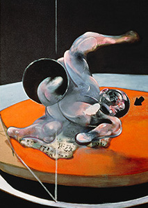 Francis Bacon, Figure in Movement, 1976