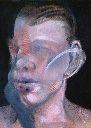 Francis Bacon, Studies for Portrait (Peter Beard), 1976